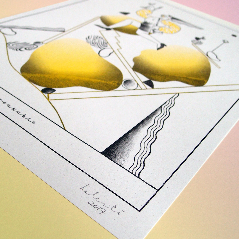 Unbreakable – Riso Print – 100 PLN / 30 USD / 25 EUR / 40